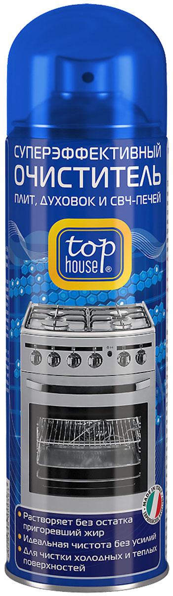 Очиститель плит, духовок и СВЧ-печей Top House, 300 мл392579Очиститель плит, духовок и СВЧ-печей Top House (аэрозоль) - суперэффективный очиститель любых пригоревших загрязнений и жира с газовых и электрических плит, духовок, СВЧ-печей, грилей, решеток для барбекю, противней, жаровен, сковородок и кастрюль. Легко удаляет стойкий пригоревший жир с эмалированных, нержавеющих, стеклокерамических и стеклянных поверхностей. - Придает сияющую чистоту и блеск без царапин - Удаляет загрязнения даже в труднодоступных местах - Растворяет без остатка пригоревший жир - Идеальная чистота без усилий - Для чистки холодных и теплых поверхностей Состав: менее 5% анионных и неионных ПАВ, гексиленгликоль, моноэтаноламин, ароматизатор (гексил циннамал), пропан/бутан. Товар сертифицирован. Уважаемые клиенты! Обращаем ваше внимание на возможные изменения в дизайне упаковки. Качественные характеристики товара остаются неизменными. Поставка осуществляется в зависимости от наличия на складе.