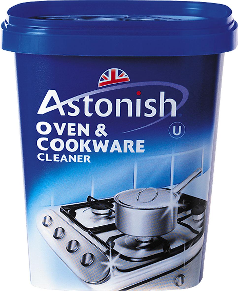 Паста для чистки кухонных поверхностей Astonish, 500 г23105Паста для чистки кухонных поверхностей Astonish - максимально эффективное очищающее средство с минимальным расходом, которое подходит для любых поверхностей по всему дому. Эффективно и быстро удаляет застарелые загрязнения, жир, пригоревшее масло с поверхности плит, духовок, раковин, посуды и кафеля. Специально разработанная формула великолепно, без особых усилий очищает любые загрязнения. Не оставляет царапин. Не содержит кислот и фосфатов. Состав: среди прочих ингредиентов менее 5% растительное мыло, отдушка. Вес: 500 г. Товар сертифицирован.