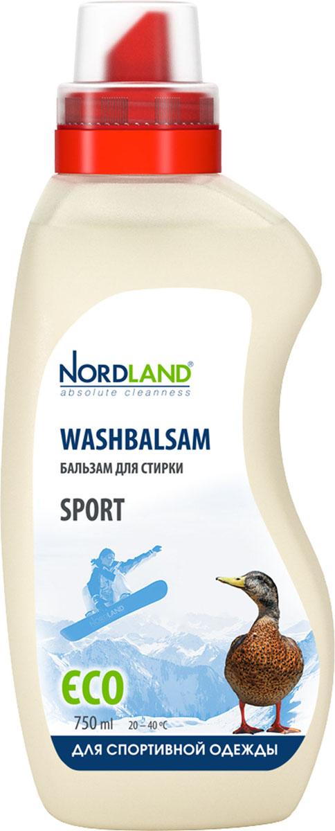 Бальзам для стирки спортивной одежды Nordland Sport, 750 мл391022Бальзам для стирки Nordland Sport специально предназначен для стирки спортивной одежды и обуви, пуховиков, курток, комбинезонов, термобелья, тканей с пропиткой и мембранных тканей. Сохраняет свойства, структуру и форму одежды. Содержит безопасные, не раздражающие кожу компоненты. Подходит для всех типов стиральных машин и ручной стирки при температуре от +20° до +40°С. - Нейтрализует запах пота - Без красителей - Экономичный расход - Действует уже при +20°С - Биораспад 100% Состав: 5-15% анионные ПАВ; менее 5% неионные ПАВ, мыло, фосфонаты, энзимы, ароматизаторы (амилциннамал, бутилфенил метилпропионал, цитронеллол, гексил циннамал, лимонен), консерванты (метилхлороизотиазолинон, метилизотиазолинон). Товар сертифицирован.