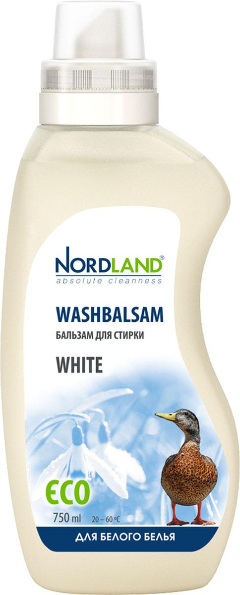 Бальзам для стирки белого белья Nordland White, 750 мл391046Бальзам для стирки Nordland White специально предназначен для стирки белья и одежды белого цвета. Сохраняет насыщенность красок, предотвращает появление серого оттенка. Содержит безопасные, не раздражающие кожу компоненты. Подходит для всех типов стиральных машин и ручной стирки при температуре от +20° до +60°С. - Без красителей - Антиаллергенный состав - Придает белизну - Экономичный расход - Действует уже при +20°С - Биораспад 100% Состав: 5-15% анионные ПАВ; менее 5% неионные ПАВ, мыло, фосфонаты; энзимы, оптический отбеливатель, ароматизатор, консерванты (метилхлороизотиазолинон, метилизотиазолинон). Товар сертифицирован.