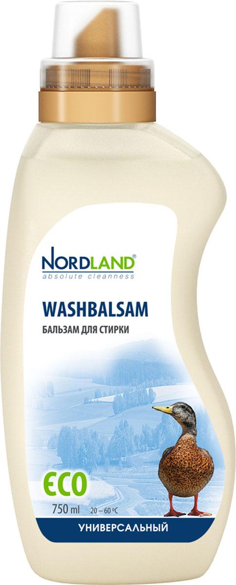 Бальзам для стирки универсальный Nordland Washbalsam, 750 мл391077Универсальный бальзам для стирки Nordland Washbalsam предназначен для стирки белого и цветного белья из хлопчатобумажных, льняных, синтетических и смесовых тканей. Содержит безопасные, не раздражающие кожу компоненты. Подходит для всех типов стиральных машин и ручной стирки при температуре от +20° до +60°С. - Дерматологически протестировано - Без красителей - Антиаллергенный состав - Экономичный расход - Действует уже при +20°С - Биораспад 100% Состав: 5-15% анионные ПАВ, неионные ПАВ, мыло; менее 5% фосфонаты, энзимы, ароматизатор, оптический отбеливатель, консерванты (метилхлороизотиазолинон, метилизотиазолинон). Товар сертифицирован.