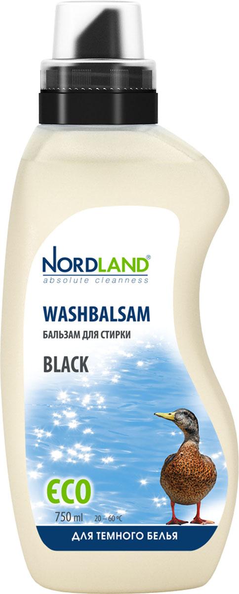 Бальзам для стирки темного белья Nordland Black, 750 мл391084Бальзам для стирки Nordland Black специально предназначен для стирки белья и одежды темного цвета из синтетических и хлопчатобумажных тканей. Сохраняет насыщенность красок, предотвращает появление белесости. Содержит безопасные, не раздражающие кожу компоненты. Подходит для всех типов стиральных машин и ручной стирки при температуре от +20° до +60°С. - Без красителей - Антиаллергенный состав - Экономичный расход - Действует уже при +20°С - Биораспад 100% Состав: 5-15% анионные ПАВ, неионные ПАВ; менее 5% амфотерные ПАВ, мыло; энзимы, ароматизатор, консервант (бензизотиазолинон). Товар сертифицирован.
