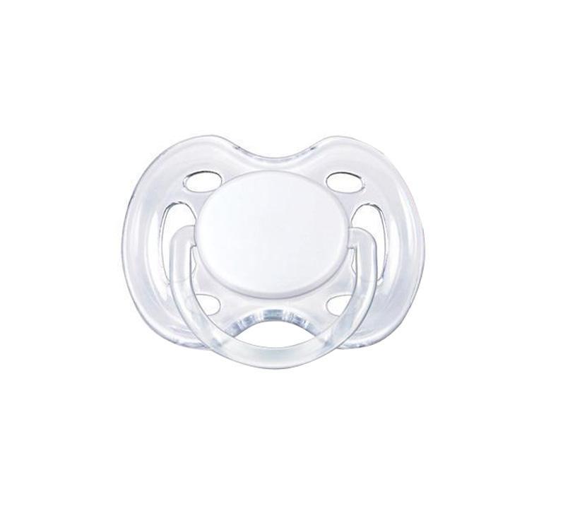 Philips Avent Пустышка силиконовая Freeflow, ортодонтическая, 0-6 месяцев SCF178/13