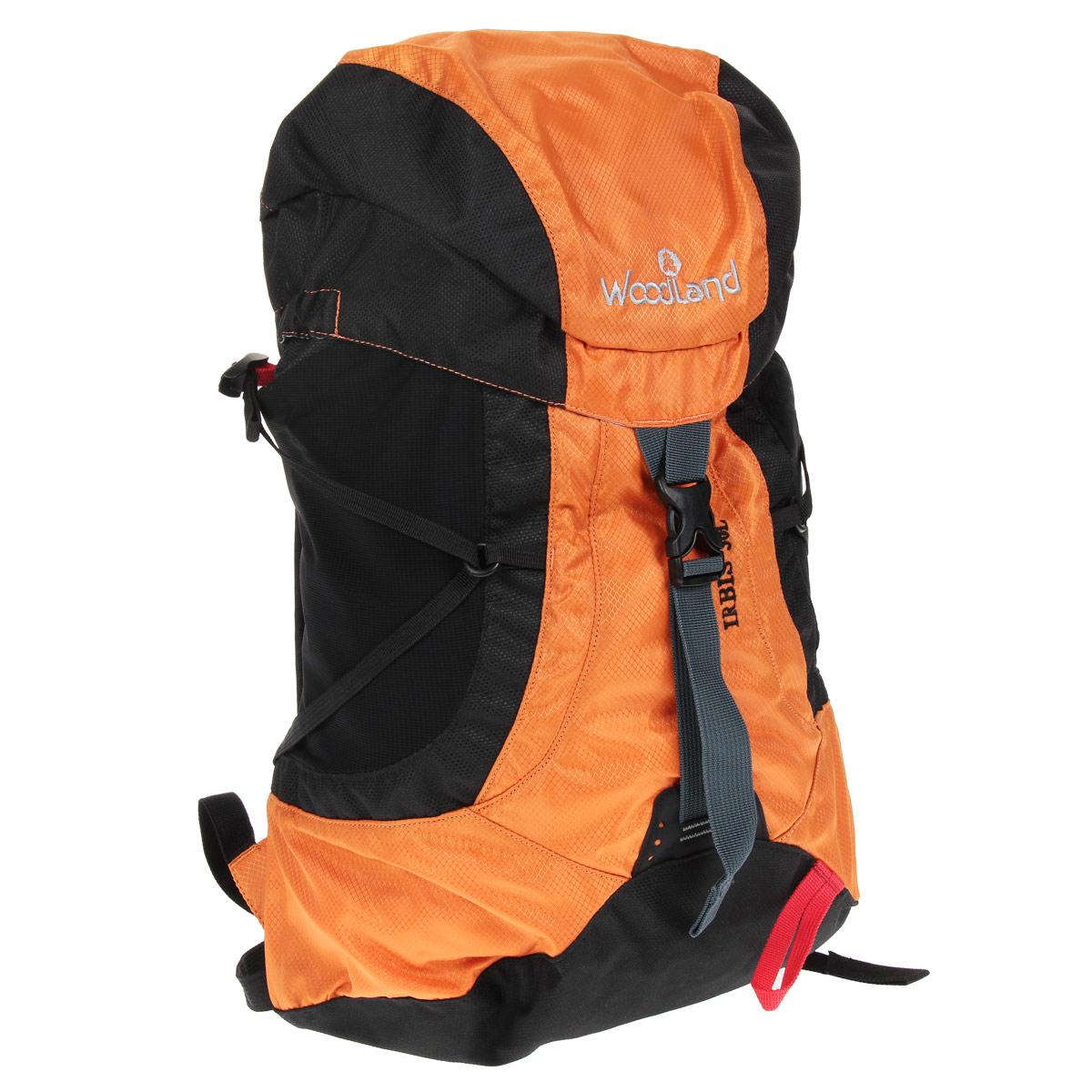 Рюкзак WoodLand Irbis 30, цвет: оранжевый, черный30783Классический универсальный рюкзак WoodLand Irbis 30 идеально подходит для восхождений в альпийском стиле, коротких походов и лыжных маршрутов. Компактный и легкий он прекрасно сидит на спине, не стесняя движений. Особенности рюкзака: Клапан несъемный с двумя карманами. Два кармашка на молнии на поясном ремне. Три внутренних кармашка (один на молнии). Raincover (защитный чехол) в комплекте. Два стрейч кармана на лямках. Вентилируемые лямки. Грудная стяжка с резиновым компенсатором. Пластиковая фурнитура YKK.