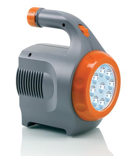 Портативный источник питания Berkut Smart Power, с фонарем