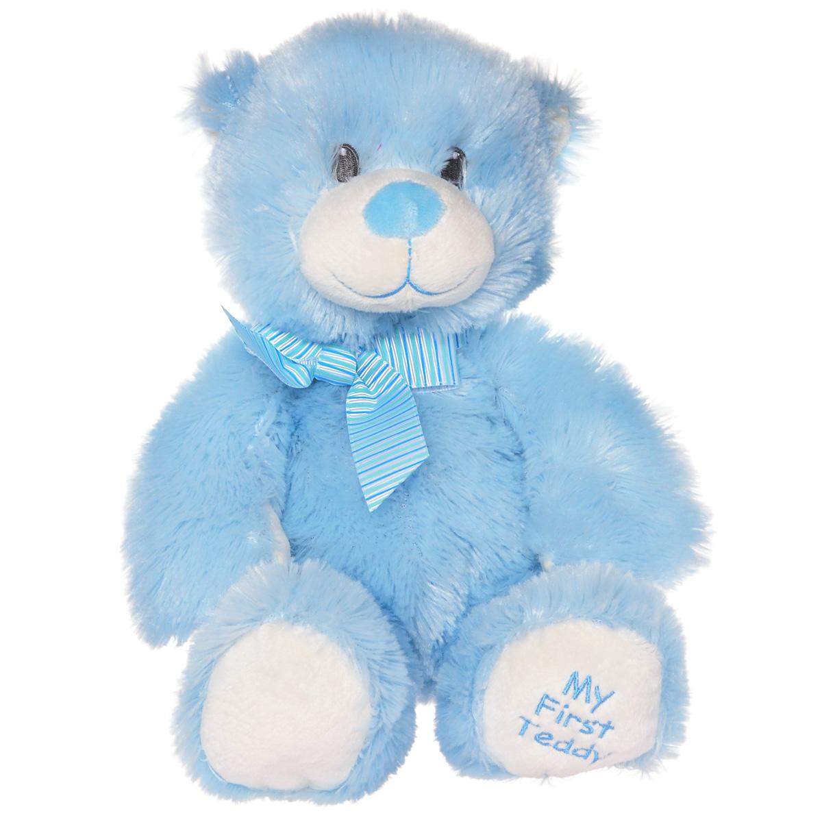 "TY Мягкая игрушка The Classic ""Медвежонок"", цвет: голубой, 24 см 50067"