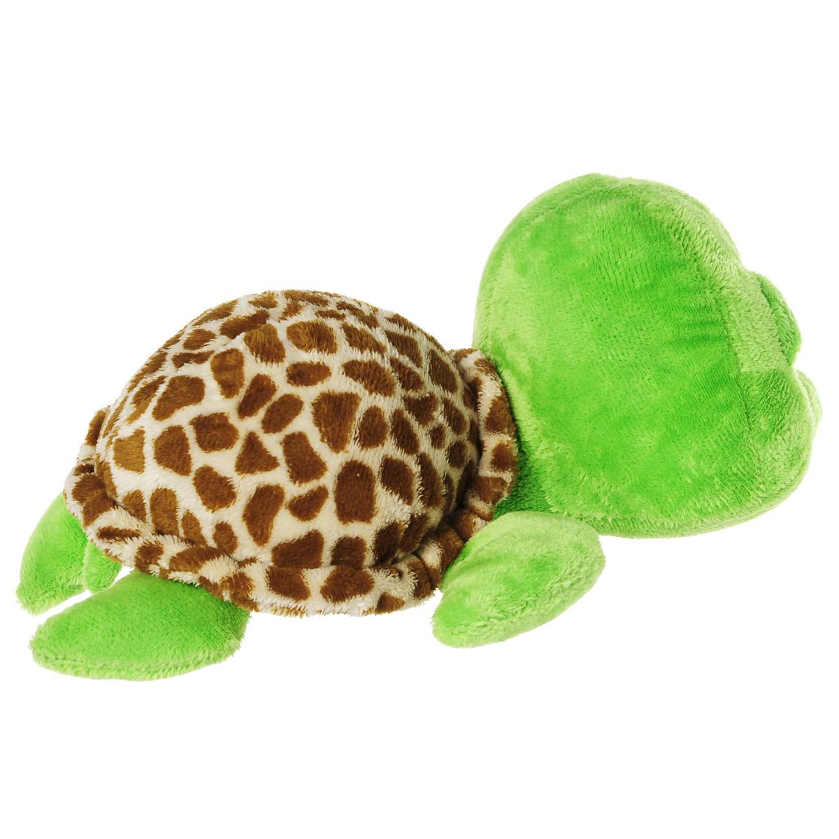 TY Мягкая игрушка Черепашка Zippy цвет салатовый коричневый 24 см