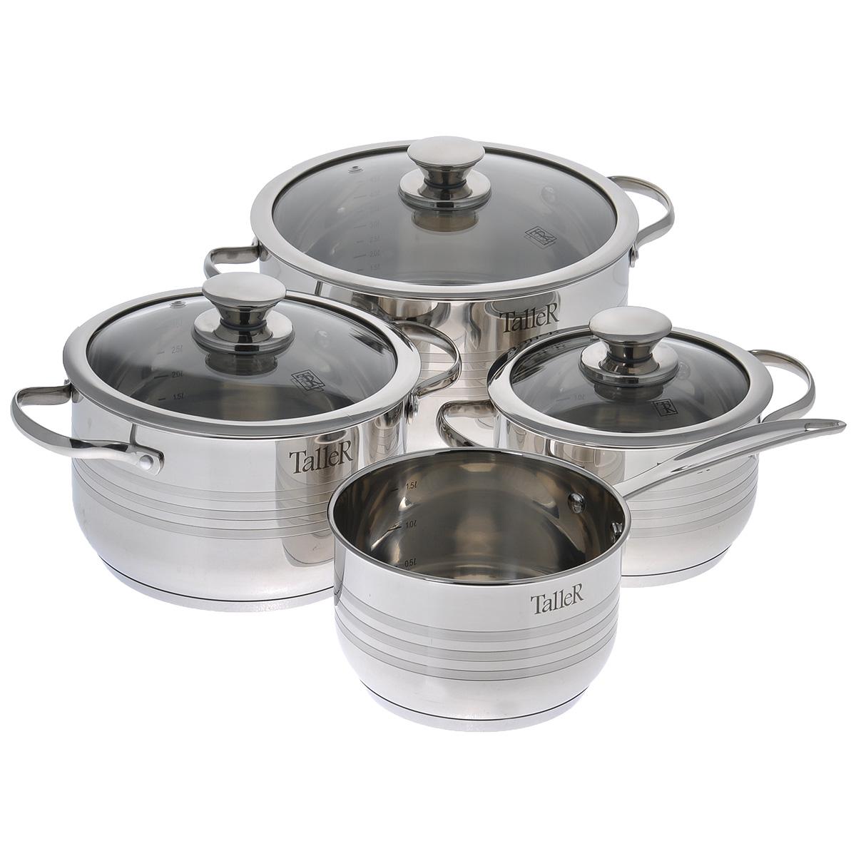 """Набор посуды Taller """"Аддисон"""", 8 предметов TR-1090"""