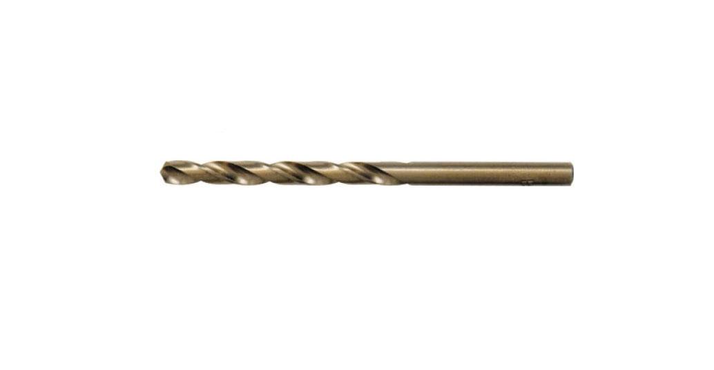 Сверло по металлу FIT, 4,8 х 86 мм, 2 шт. 3444834448Сверло FIT предназначено для выполнения сквозных и глухих отверстий в легированной и нелегированной стали, сером чугуне, металлокерамическом сплаве на основе железа, ковком чугуне, цветном металле. Сверло изготовлено из высокопроизводительной быстрорежущей стали с титановым покрытием. Оснастка имеет цилиндрический хвостовик. Работает в правом направлении.