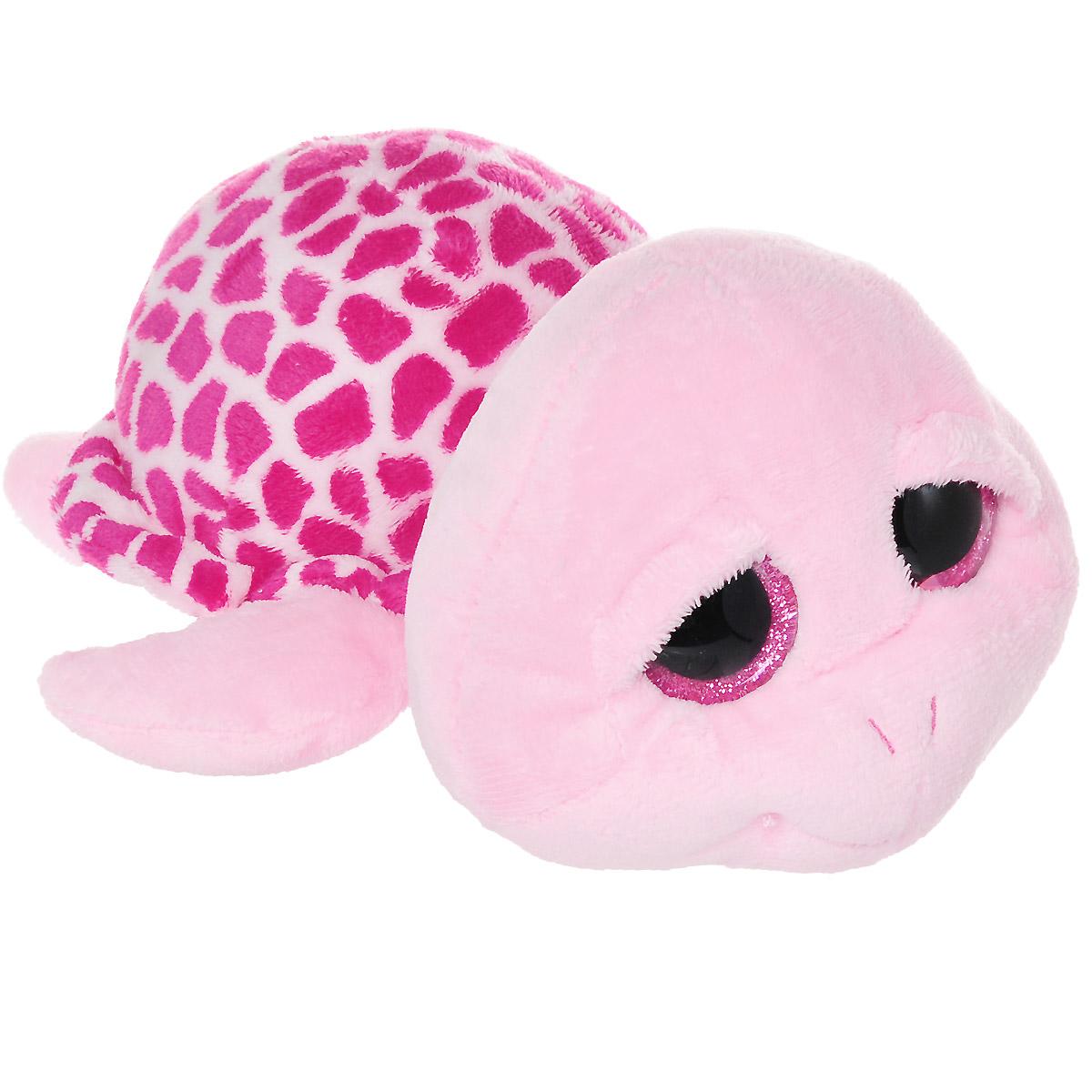 TY Мягкая игрушка Черепашка Zippy цвет розовый малиновый 24 см36990Очаровательная мягкая игрушка Beanie Boos Черепашка Zippy, выполненная в виде милой черепашки с большими глазками, вызовет умиление и улыбку у каждого, кто ее увидит. Она станет замечательным подарком, как ребенку, так и взрослому. Удивительно мягкая игрушка принесет радость и подарит своему обладателю мгновения нежных объятий и приятных воспоминаний. Специальные гранулы, используемые при ее набивке, способствуют развитию мелкой моторики рук малыша. Великолепное качество исполнения делают эту игрушку чудесным подарком к любому празднику.