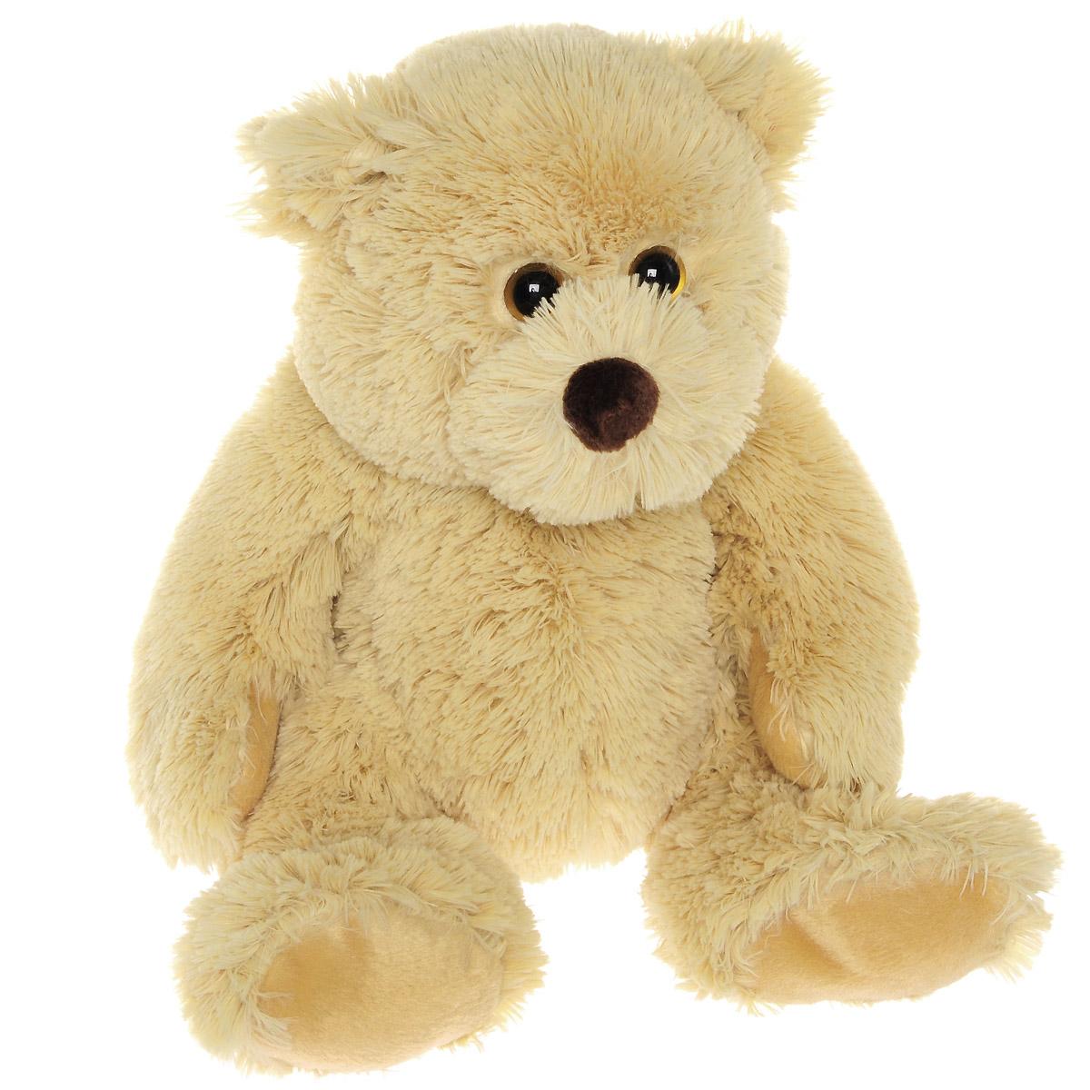 Мягкая игрушка The Classic Медвежонок Boris , цвет: коричневый, 31 см50060Очаровательная мягкая игрушка The Classic Медвежонок Boris, выполненная в виде медвежонка коричневого цвета с милыми глазками, вызовет умиление и улыбку у каждого, кто ее увидит. Удивительно мягкая игрушка принесет радость и подарит своему обладателю мгновения нежных объятий и приятных воспоминаний. Специальные гранулы, используемые при ее набивке, способствуют развитию мелкой моторики рук малыша. В качестве набивки используется синтепон. Великолепное качество исполнения делают эту игрушку чудесным подарком к любому празднику.
