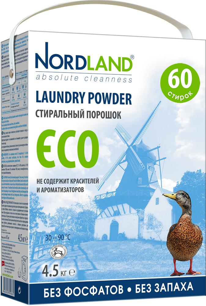 Стиральный порошок Nordland ECO, 4,5 кг390865Стиральный порошок Nordland ECO нового поколения не содержит фосфатов и не имеет запаха. Специально разработан для использования в стиральных машинах всех типов при температуре от +30° до +90°С и для ручной стирки. Порошок подходит для стирки как белых, так и цветных тканей из натуральных, синтетических и смесовых волокон. Может использоваться для стирки верхней одежды, свитеров, курток, комбинезонов. Может использоваться в местах без централизованной системы канализации, например, загородом. - Без красителей и ароматизаторов - Заботится об экосистеме вашего дома - Хорошо выполаскивается - Мягко очищает и ухаживает за тканями - Не тестируется на животных - Экономичный расход (60 стирок) - Биораспад более 90% Состав: 15-30% цеолиты, 5-15% анионные ПАВ, менее 5%: неионные ПАВ, мыло, поликарбоксилаты, оптический отбеливатель. Вес: 4,5 кг. Товар сертифицирован.
