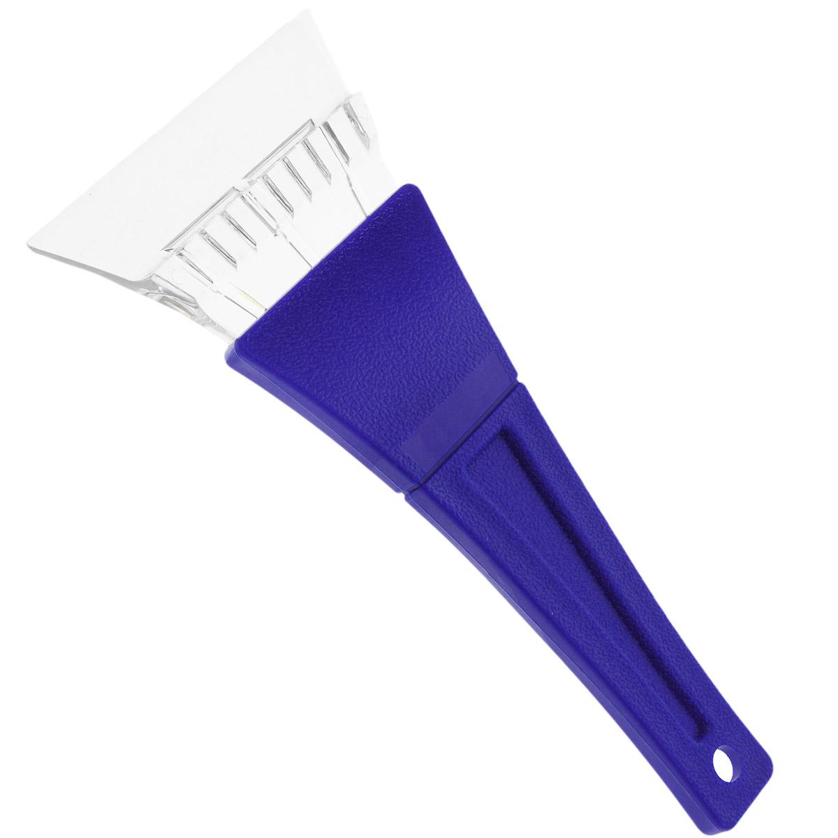 Скребок для уборки снега и льда Clingo, с пластиковой ручкой, ширина: 11 см