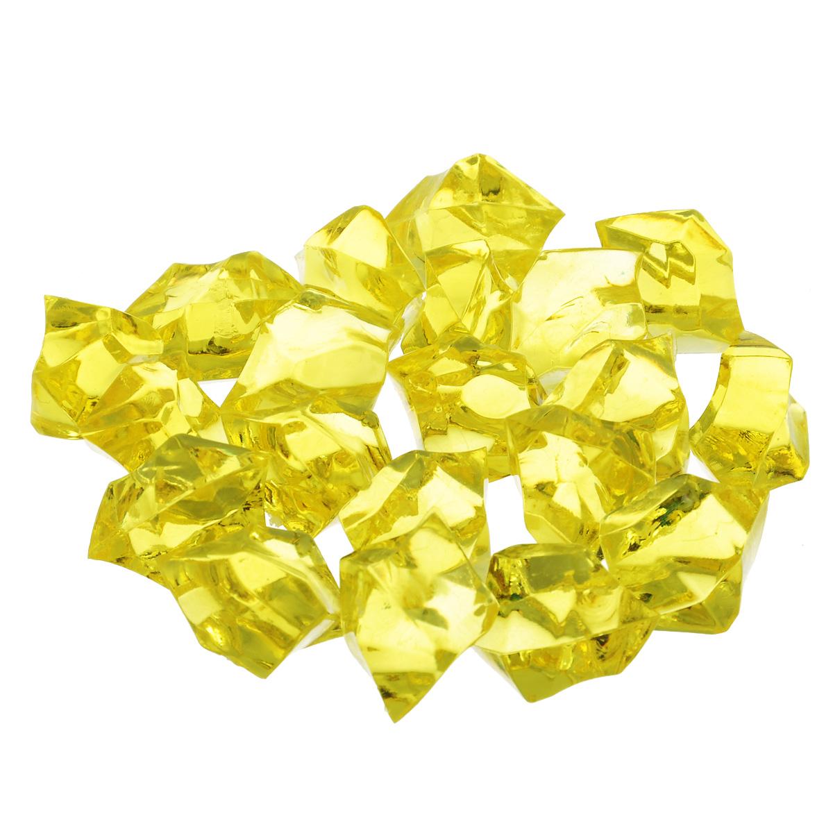 Набор декоративных кристаллов Большие камни, цвет: желтый, 70 г824-011 желтыйНабор декоративных кристаллов Большие камни, выполненный из пластика, замечательно подойдет для украшения вашего дома. Его можно использовать для создания индивидуального интерьера, а также как наполнитель декоративных ваз. Декоративные кристаллы создают чувство уюта и улучшают настроение.