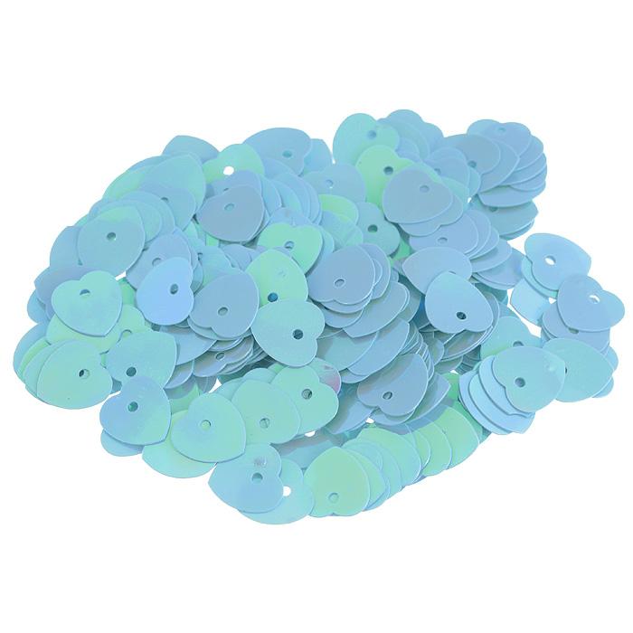 Пайетки Астра Сердечки, с перламутром, цвет: светло-бирюзовый (17), 10 мм х 10 мм, 10 г. 7700473_177700473_17Пайетки Астра Сердечки с перламутром представляют собой блёстки, плоские чешуйки в форме сердца, изготовленные из пластика с отверстием для продевания нитки. Они позволят изыскано украсить любую вещь, идеальны для декора сценических костюмов, создания стилизованной одежды.