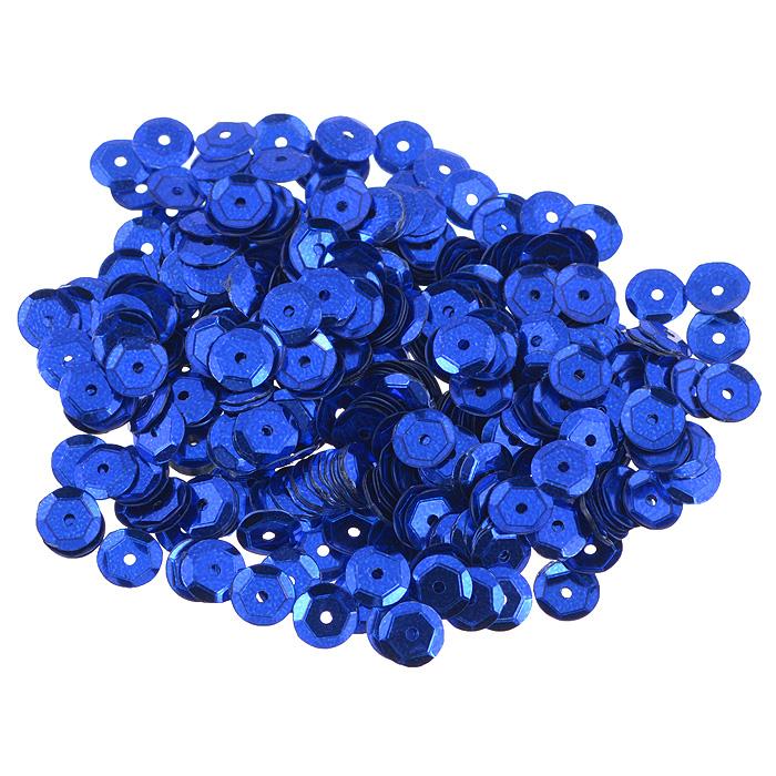 Пайетки граненые Астра, цвет: темно-синий, 6 мм, 10 г. 7700472_57700472_5 т.синийПайетки Астра выполнены в виде круглой чешуйки из блестящего пластика многогранной формы и с отверстием для продевания нитки. Они идеально подойдут для вышивания на предметах быта и женской одежде. Они позволят изыскано украсить любую вещь, подойдут для декора сценических костюмов, создания стилизованной одежды.