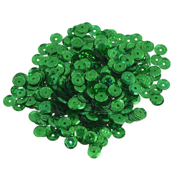Пайетки граненые Астра, с голограммой, цвет: зеленый, 6 мм, 10 г. 7700472_501047700472_50104 зеленый голограммаПайетки Астра выполнены в виде круглой чешуйки из блестящего пластика многогранной формы и с отверстием для продевания нитки. Они идеально подойдут для вышивания на предметах быта и женской одежде. Они позволят изыскано украсить любую вещь, подойдут для декора сценических костюмов, создания стилизованной одежды.