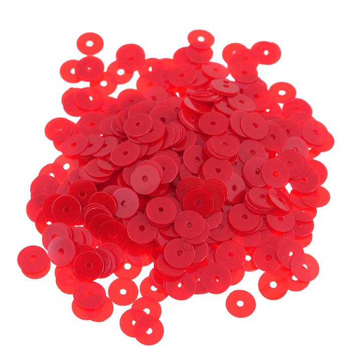 Пайетки плоские Астра, матовые, цвет: красный, 6 мм, 10 г. 7700471_0607700471_060 красный матовыйПайетки Астра выполнены в виде круглой чешуйки из блестящего пластика многогранной формы и с отверстием для продевания нитки. Они идеально подойдут для вышивания на предметах быта и женской одежде. Они позволят изыскано украсить любую вещь, подойдут для декора сценических костюмов, создания стилизованной одежды.