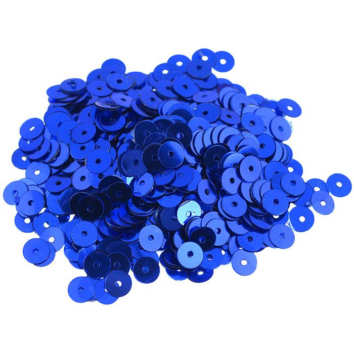Пайетки плоские Астра, цвет: темно-синий, 6 мм, 10 г. 7700471_57700471_5 т.синийПайетки Астра выполнены в виде круглой чешуйки из блестящего пластика многогранной формы и с отверстием для продевания нитки. Они идеально подойдут для вышивания на предметах быта и женской одежде. Они позволят изыскано украсить любую вещь, подойдут для декора сценических костюмов, создания стилизованной одежды. Диаметр: 6 мм. Вес: 10 г.