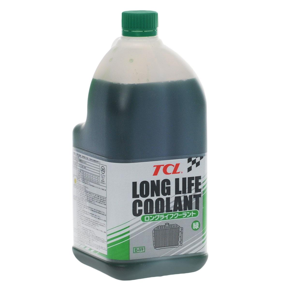 Антифриз TCL LLC, концентрированный, цвет: зеленый, 2 лLLC00987Высококачественная охлаждающая жидкость TCL LLC, препятствующая перегреву двигателей даже в сильную жару и замораживанию системы охлаждения в сильный мороз. Защищает от коррозии металлические части системы охлаждения и удаляет с них ранее образовавшиеся окислы. Является отличной смазкой для помп. Сохраняет свои качества в системах охлаждения в течение 2 лет. Антифриз зеленого цвета предназначен для всех автомобилей, кроме TOYOTA и DAIHATSU. Концентрированный антифриз обязательно нужно использовать в разбавленном виде 25~60 %. Состав: этиленгликоль, метанол, комплекс присадок.