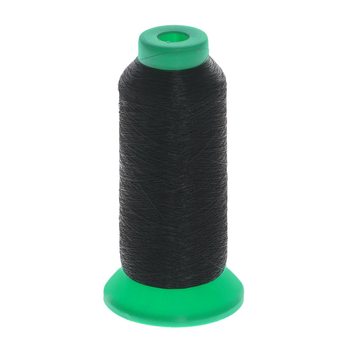 Моно-нить нейлоновая, цвет: черный, толщина 0,15 мм, 4572 м