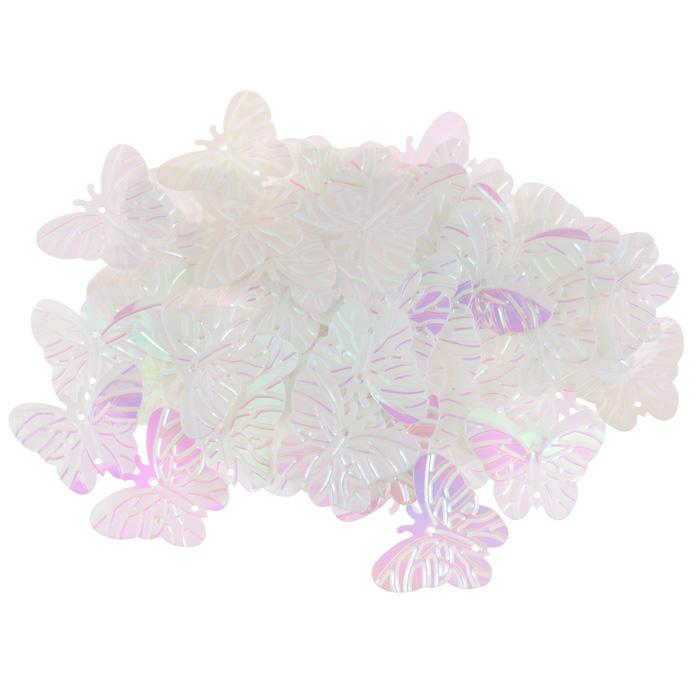 Пайетки Астра Бабочки, с перламутром, цвет: светло-розовый (319), 18 мм х 23 мм, 10 г. 7700479_3197700479_319Пайетки Астра Бабочки с перламутром представляют собой блёстки, плоские чешуйки в форме бабочки, изготовленные из пластика с двумя отверстиями для продевания нитки. Они позволят изыскано украсить любую вещь, идеальны для декора сценических костюмов, создания стилизованной одежды.