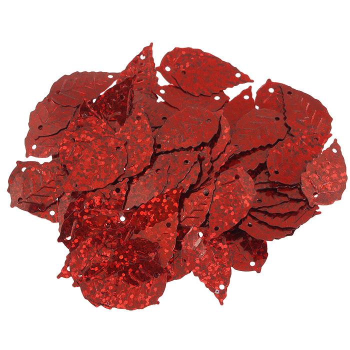 Пайетки Астра Листочки, с голограммой, цвет: красный (50103), 15 мм х 25 мм, 10 г. 7700478_501037700478_50103Пайетки Астра Листочки с голограммой представляют собой блёстки, плоские чешуйки в форме листика, изготовленные из пластика с двумя отверстиями для продевания нитки. Они позволят изыскано украсить любую вещь, идеальны для декора сценических костюмов, создания стилизованной одежды.