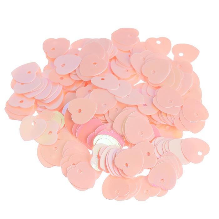 Пайетки Астра Сердечки, с перламутром, цвет: розовый (30), 10 мм х 10 мм, 10 г. 7700473_307700473_30Пайетки Астра Сердечки с перламутром представляют собой блёстки, плоские чешуйки в форме сердца, изготовленные из пластика с отверстием для продевания нитки. Они позволят изыскано украсить любую вещь, идеальны для декора сценических костюмов, создания стилизованной одежды.