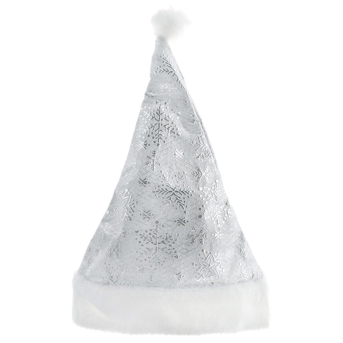 Колпак новогодний Sima-land Снежинки, цвет: серебристый719616