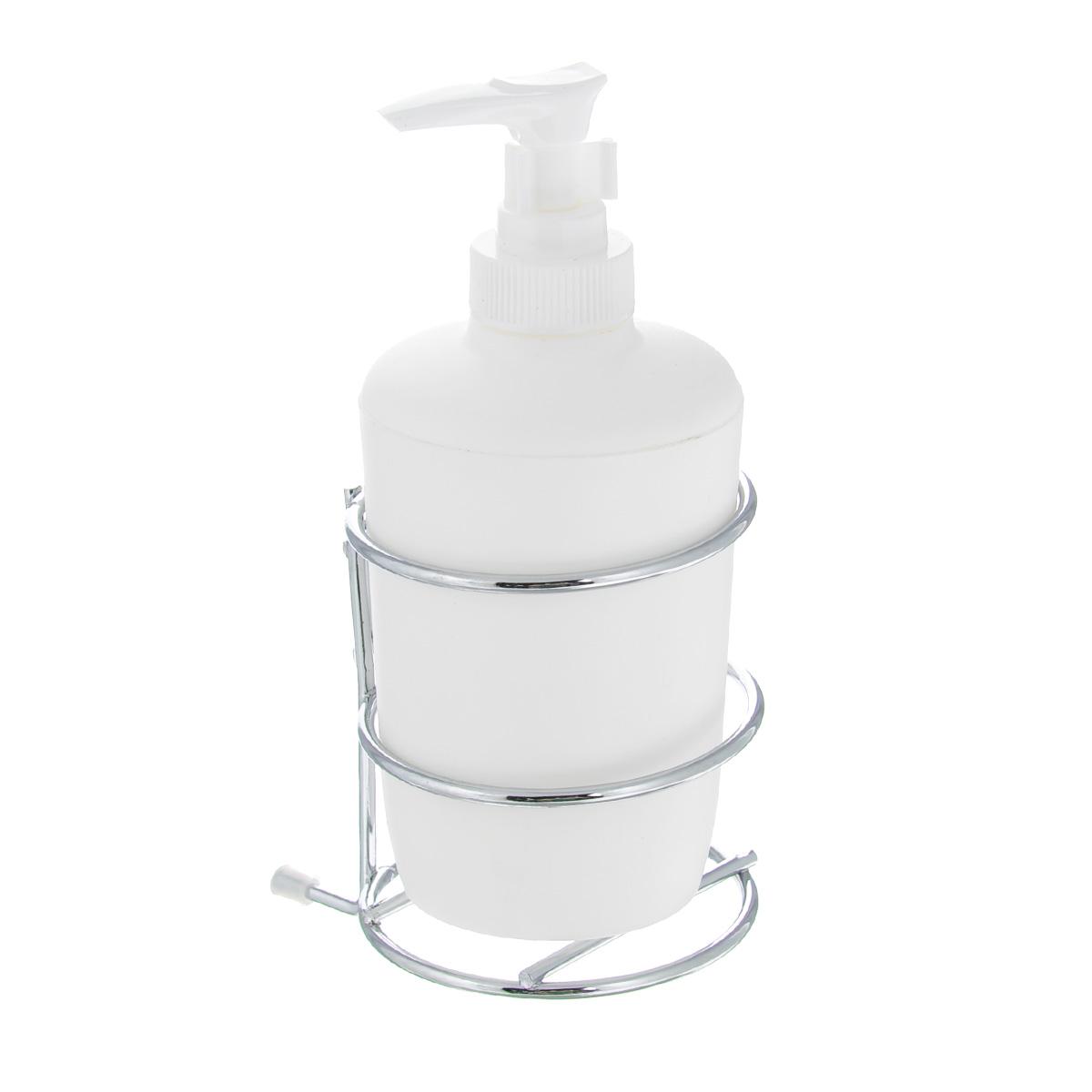 Дозатор для жидкого мыла Wenko Milazzo, с держателем16985100