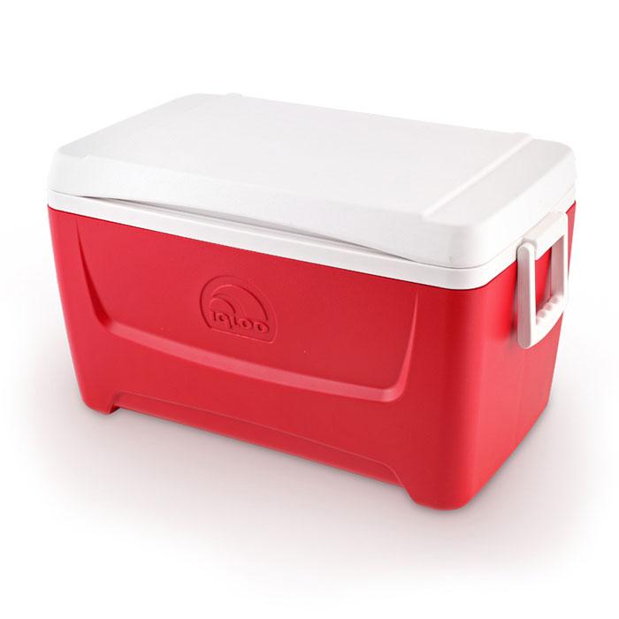 """Изотермический контейнер Igloo """"Island Breeze"""", цвет: красный, 45 л 44560"""