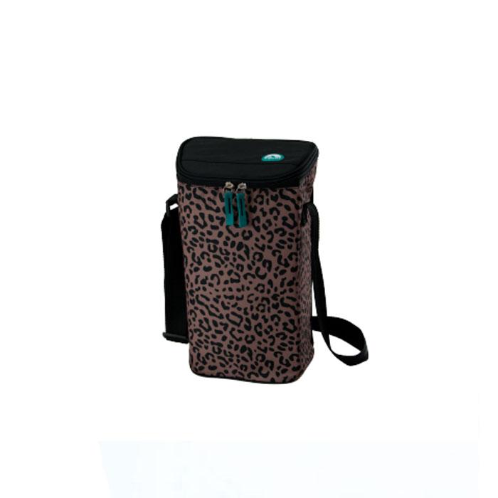Сумка-термос Igloo 2 Bottle Wine Tote 16 leopard (Для вина или газированных напитков) 00157759