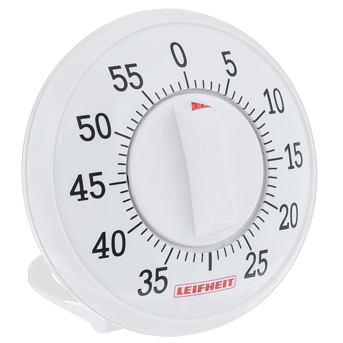 Таймер кухонный Leifheit Signature, на 60 мин22600Таймер Leifheit Signature, изготовленный из высококачественного пластика, станет вашим надежным помощником на кухне, прост в использовании. Максимальное время, на которое вы можете поставить таймер, составляет 60 минут. Оригинальный дизайн таймера украсит интерьер любой современной кухни, и теперь вы сможете без труда вскипятить молоко, отварить пельмени или вовремя вынуть из духовки аппетитный пирог. Таймер громко зазвенит, когда блюдо будет готово, поэтому вы можете себе позволить отвлечься на любимый фильм, не опасаясь, что у вас что-то подгорит или переварится.