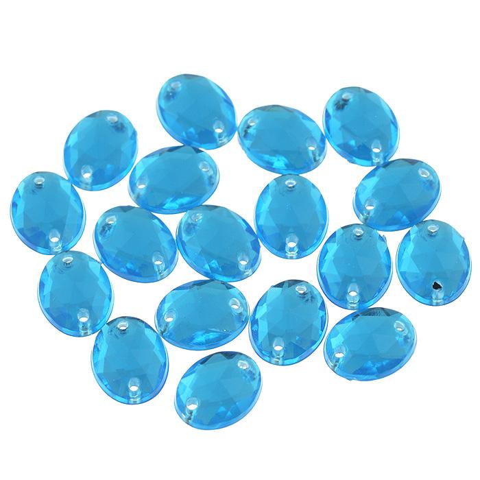 Стразы пришивные Астра, акриловые, овальные, цвет: голубой (32), 8 мм х 10 мм, 18 шт. 7701650_327701650_32 голубойНабор страз Астра, изготовленный из акрила, позволит вам украсить одежду и аксессуары. Стразы оригинального и яркого дизайна выполнены в форме овала и оснащены отверстиям для пришивания. Украшение стразами поможет сделать любую вещь оригинальной и неповторимой.