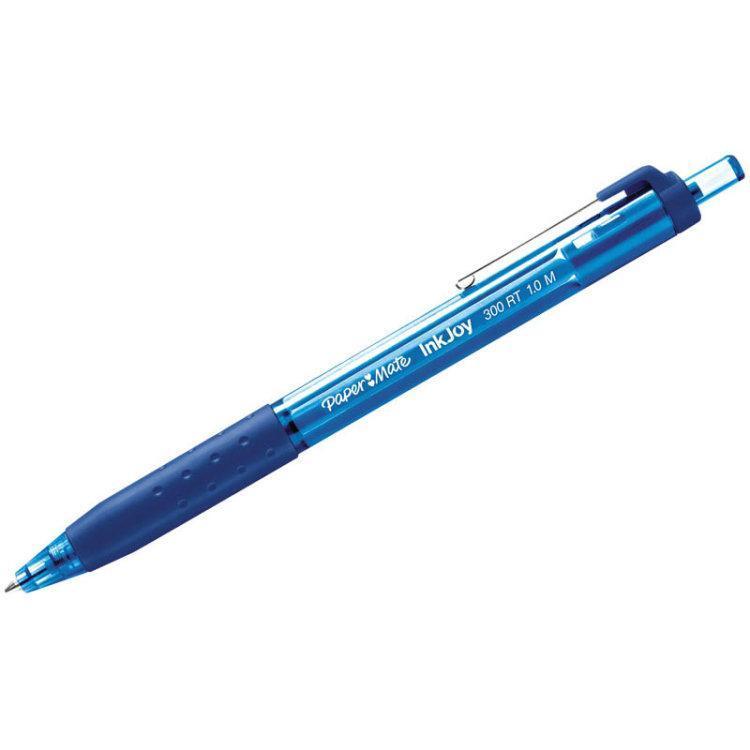 Ручка шариковая INK JOY 300 ,с кнопочным механизмом, синийPM-S0959920Особенности: автоматическая ручка
