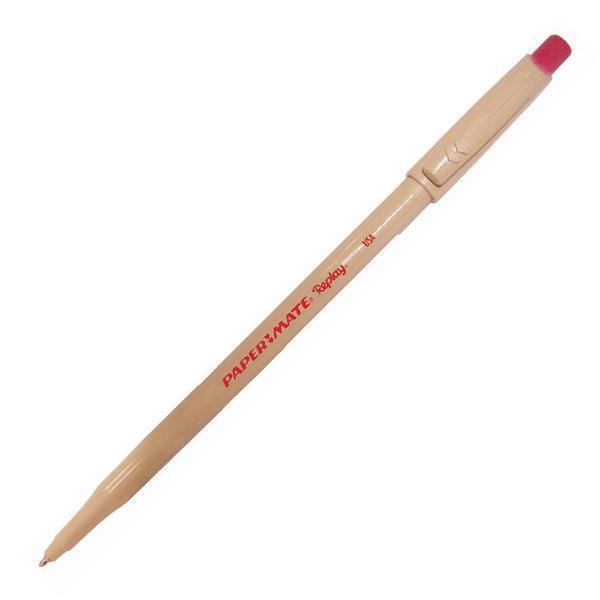 Ручка шариковая REPLAY со стираемыми чернилами, с ластиком, красная, 1,0 мм