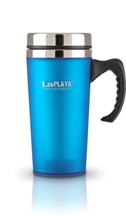 """Термокружка LaPlaya """"TRM 2000"""", цвет: синий, 400 мл"""