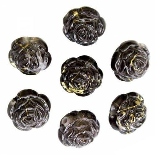 Бусины Астра, цвет: черный (6-11), диаметр 17 мм, 16 шт. 7701042_6-117701042_6-11Набор бусин Астра, изготовленный из пластика, позволит вам своими руками создать оригинальные ожерелья, бусы или браслеты. Бусины имеют круглую форму и выполнены в виде розы. Изготовление украшений - занимательное хобби и реализация творческих способностей рукодельницы, это возможность создания неповторимого индивидуального подарка.