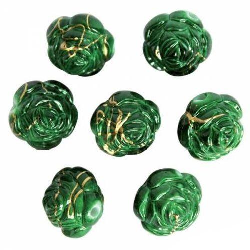 Бусины Астра, цвет: зеленый (6-4), диаметр 17 мм, 16 шт. 7701042_6-47701042_6-4Набор бусин Астра, изготовленный из пластика, позволит вам своими руками создать оригинальные ожерелья, бусы или браслеты. Бусины имеют круглую форму и выполнены в виде розы. Изготовление украшений - занимательное хобби и реализация творческих способностей рукодельницы, это возможность создания неповторимого индивидуального подарка.