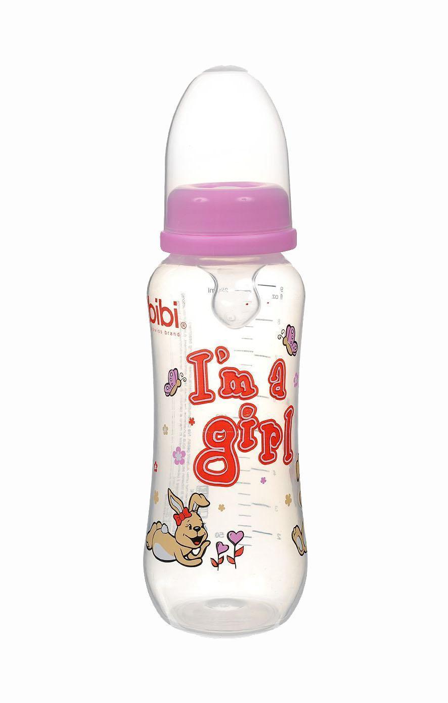 Бутылочка для кормления Bibi Little Stars, с силиконовой соской, от 0 месяцев, цвет: розовый, 250 мл. 108429108429_розовыйБутылочка от Bibi снабжена защитным колпачком, ортодонтической соской, мерной шкалой для дозирования напитков. Из бутылочки можно пить воду или чай, а плотно закрывающаяся крышка не даст содержимому пролиться.