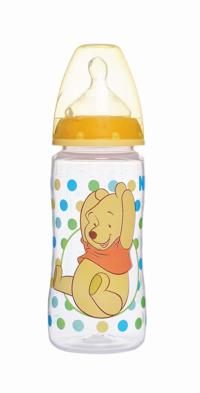 Бутылочка для кормления NUK Disney, от 0 до 6 месяцев, цвет: желтый, 300 мл10741378 желтый•Трогательные персонажи Disney подарят ребенку радость и первые яркие впечатления (цвета в ассортименте).