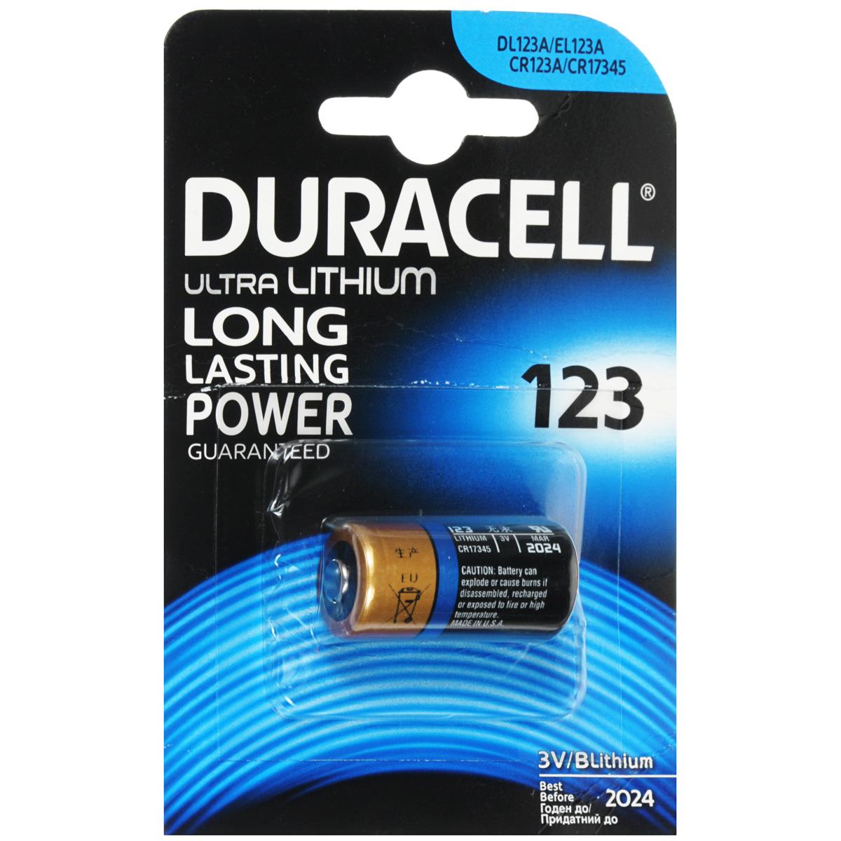"Батарейка литиевая Duracell ""Ultra"". DRC-81476860т"