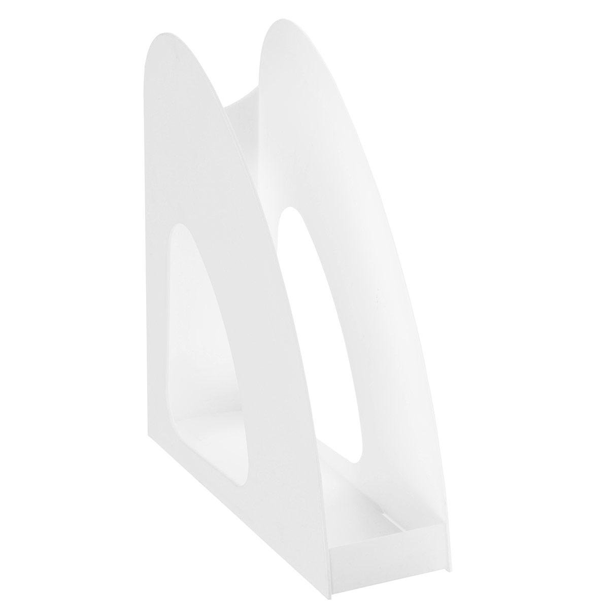 Вертикальный лоток для бумаг HAN Twin с оригинальным дизайном корпуса поможет вам навести порядок на столе и сэкономить пространство. Лоток изготовлен из высококачественного антистатического непрозрачного пластика. Низкий передний порог облегчает изъятие документов из накопителя. Благодаря лотку для бумаг, важные бумаги и документы всегда будут под рукой.
