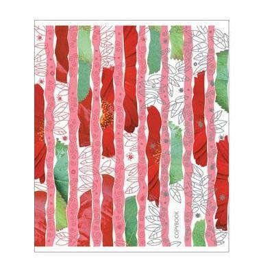 Полиграфика Тетрадь, 96л Leaves&Beetles, тиснение фольгой + УФ-лак, цвет: красный4601921375992Отличная тетрадь подойдет как школьнику, так и в повседневной жизни. Тетрадь сделана из качественной бумаги. Обложку украшает отличный принт.