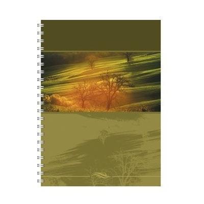 Полиграфика Тетрадь на спирали А5, 120л Панорама, жесткий ламинат (матовый)4601921376456