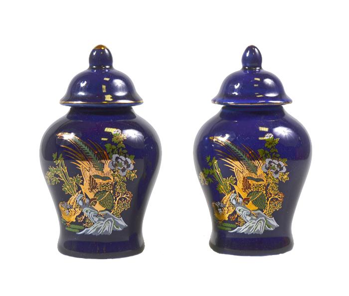 Парные вазочки в японском стиле