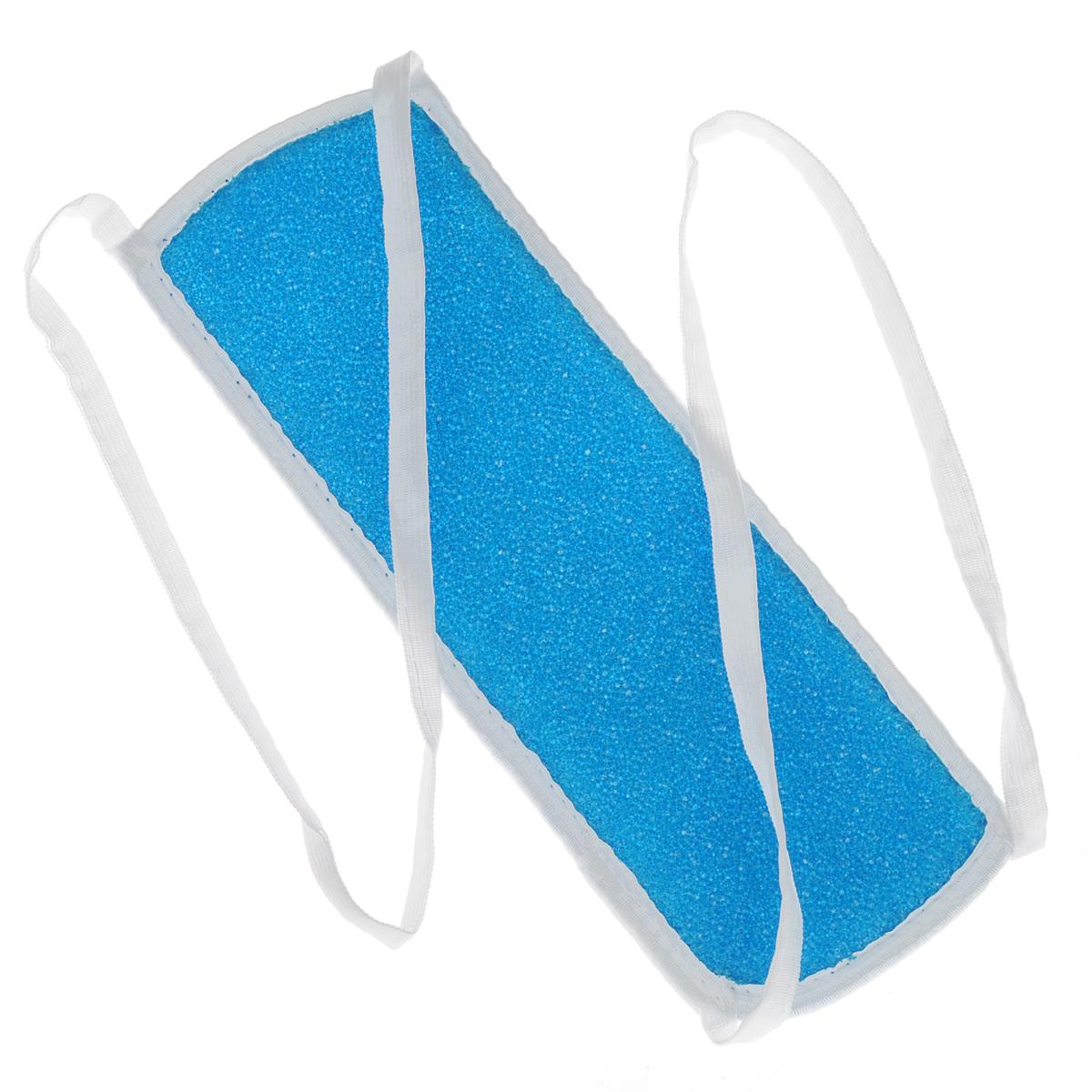 Мочалка массажная Eva, с ручками, цвет: голубой. М30М30Массажная мочалка с ручками Eva станет незаменимым аксессуаром ванной комнаты. Она отлично пенится и быстро сохнет. Мочалка, изготовленная из хлопка и пенополиуретана, тонизирует, массирует и очищает кожу. Не вызывает аллергии. Размер мочалки (без учета ручек): 30 см х 10 см х 1 см. Длина мочалки (с учетом ручек): 88 см.