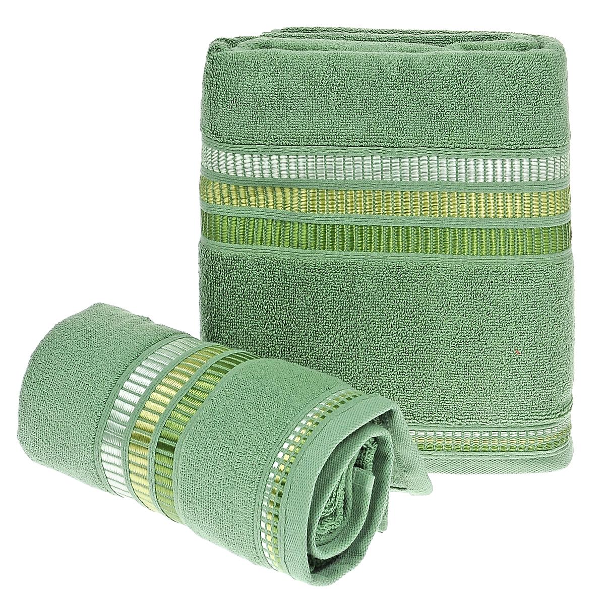 Набор махровых полотенец Coronet Пиано, цвет: зеленый, 2 шт. Б-МП-2020-15-05-кБ-МП-2020-15-05-кПодарочный набор Coronet Пиано состоит из двух полотенец разного размера, выполненных из натуральной махровой ткани. Полотенца украшены изящным декоративным теснением. Мягкие и уютные, они прекрасно впитывают влагу и легко стираются. Такой набор подарит вам мягкость и необыкновенный комфорт в использовании. Благодаря высокому качеству изготовления, полотенце будет радовать многие годы. Полотенца упакованы в подарочную коробку и станут приятным и полезным подарком вашим друзьям и близким.