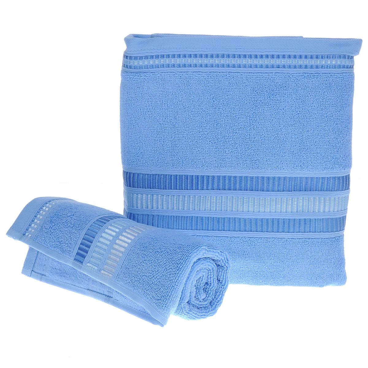 Набор махровых полотенец Coronet Пиано, цвет: синий, 2 шт. Б-МП-2020-15-07-сБ-МП-2020-15-07-сПодарочный набор Coronet Пиано состоит из двух полотенец разного размера, выполненных из натуральной махровой ткани. Полотенца украшены изящным декоративным тиснением. Мягкие и уютные, они прекрасно впитывают влагу и легко стираются. Такой набор подарит вам мягкость и необыкновенный комфорт в использовании. Благодаря высокому качеству изготовления, полотенце будет радовать многие годы. Комплектация: 2 шт. Плотность полотенец 550 г/м.