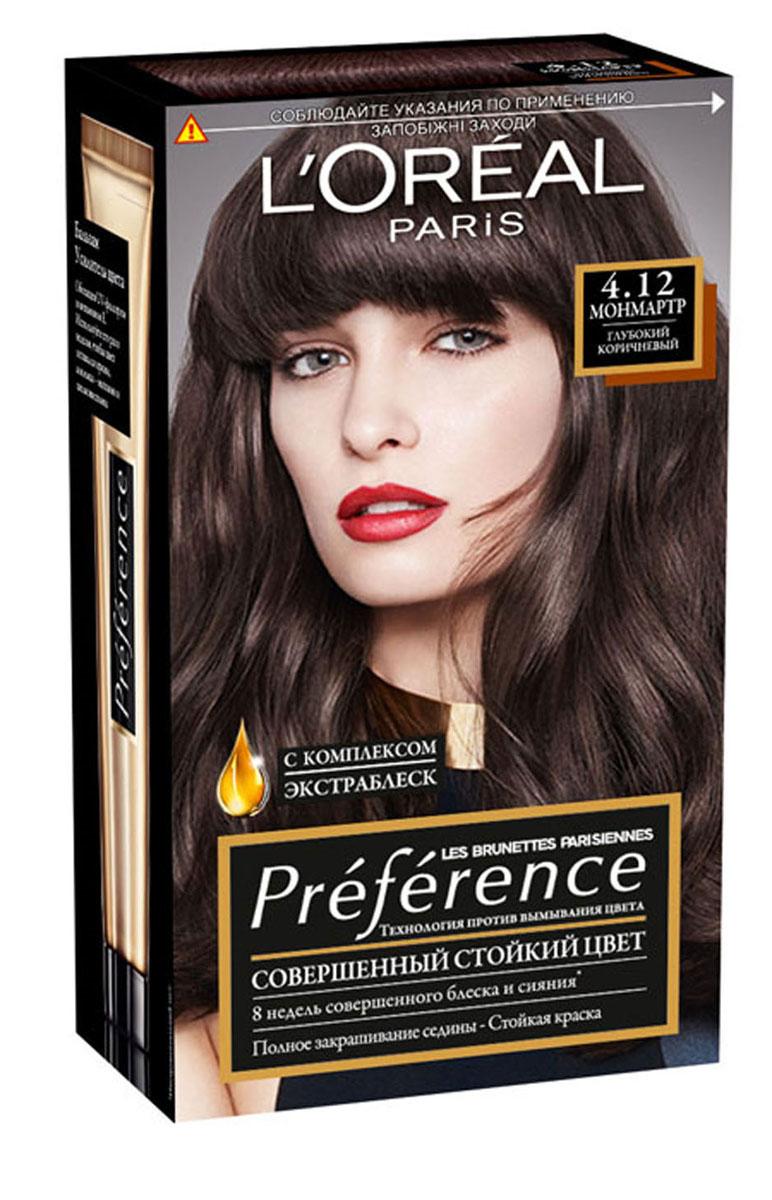 "L'Oreal Paris ������ ��� ����� ""Preference"", � ��������� -���������� �����, � ���������� �����������, ������� 4.12, ��������, 174 ��"